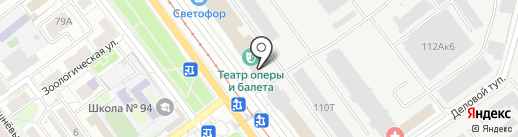 Bebrand на карте Саратова