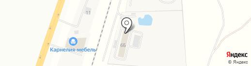 ЭЛМОН на карте Зоринского
