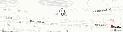 Ника-2013 на карте Саратова