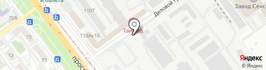 PERFECT project на карте Саратова