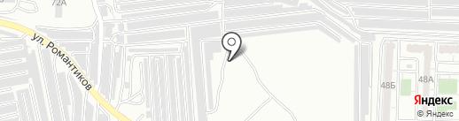 Каманавто на карте Саратова
