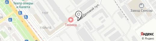 НТТ на карте Саратова