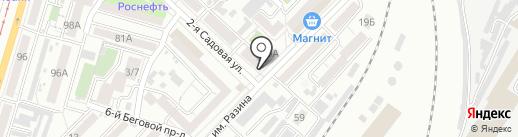 Деревенские продукты на карте Саратова