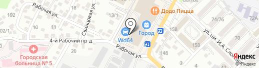 WD64 на карте Саратова
