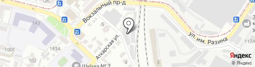 Rental на карте Саратова