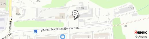 Орггаздиагностика на карте Саратова