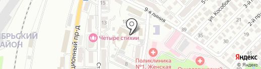 Профсоюз железнодорожников и транспортных строителей на карте Саратова