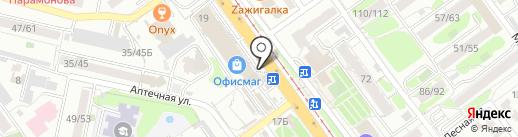 Сеть ювелирных мастерских на карте Саратова