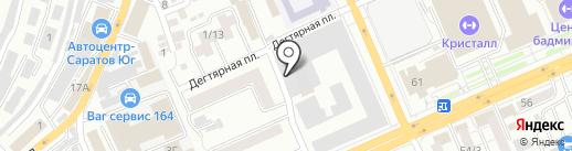 PARANOIA на карте Саратова