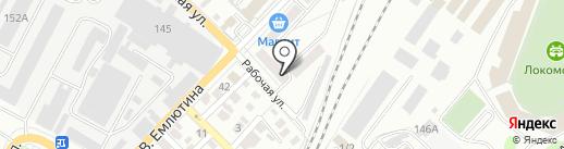 Салон воздушных и гелиевых шаров на карте Саратова