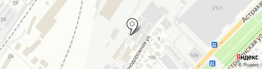 Тонировочный салон на карте Саратова