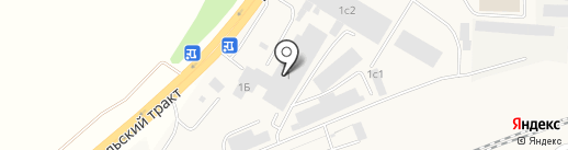 Maxавто на карте Зоринского