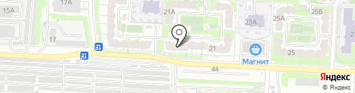 Ева на карте Саратова