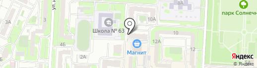 Леди Ди на карте Саратова