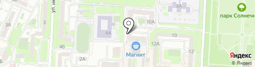 Гардероб на карте Саратова