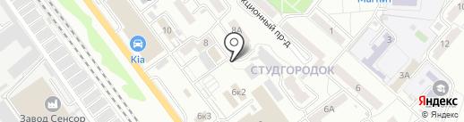 Элита на карте Саратова