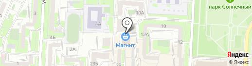 Оливия на карте Саратова