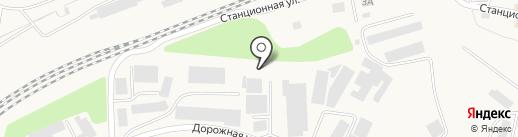 Фирма по утилизации отходов на карте Зоринского