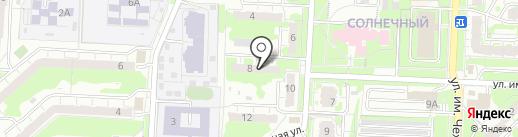 Компания по предоставлению юридических услуг на карте Саратова