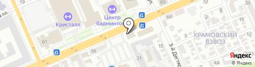 Evanty на карте Саратова