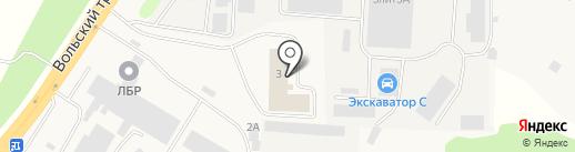 Автосервис на карте Зоринского