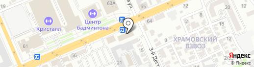 Центр восстановления здоровья на карте Саратова