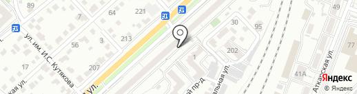 Социальная на карте Саратова