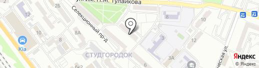 Тишина на карте Саратова