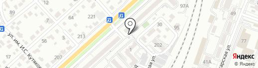 Магазин хозтоварав на карте Саратова