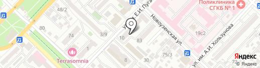 Эксперт на карте Саратова