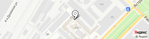 Легра на карте Саратова