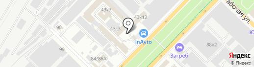ЭКОС на карте Саратова