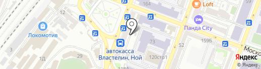 Кафедра вкуса на карте Саратова