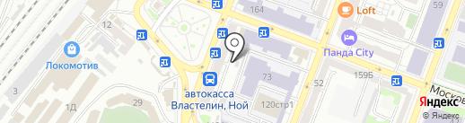 Turist на карте Саратова