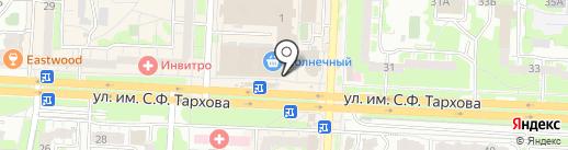 Wanlima на карте Саратова