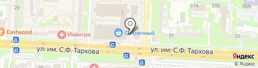 Еда на карте Саратова