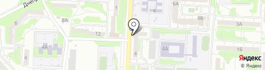 Ателье по пошиву и ремонту одежды на карте Саратова