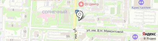 VistCard на карте Саратова