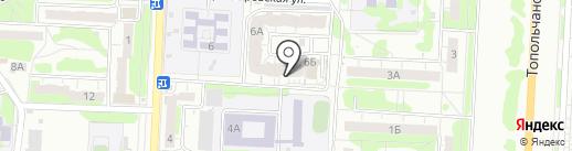 Домашний мир на карте Саратова