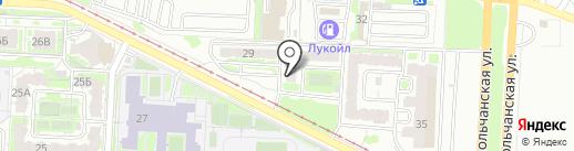 Мила на карте Саратова