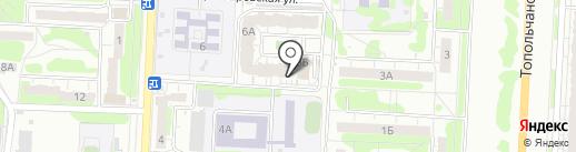 Магазин мяса, фруктов и овощей на карте Саратова