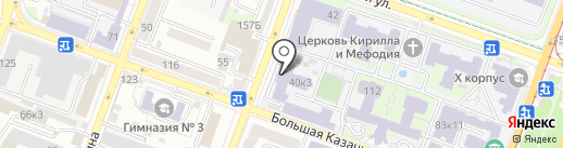 Музей физических приборов и лекционных демонстраций на карте Саратова