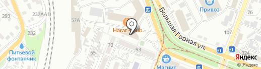 Сар-Бетон на карте Саратова