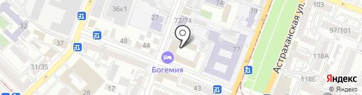 Локар на карте Саратова