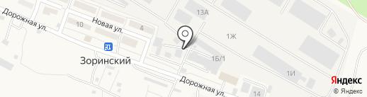 Строй Мир на карте Зоринского