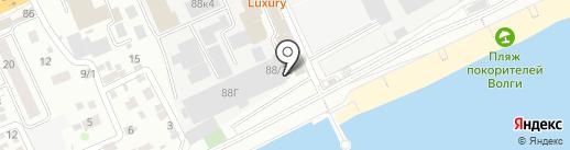 Галс-телеком на карте Саратова