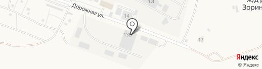 Автокомплекс-2000 на карте Зоринского