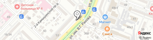 Kiosk на карте Саратова