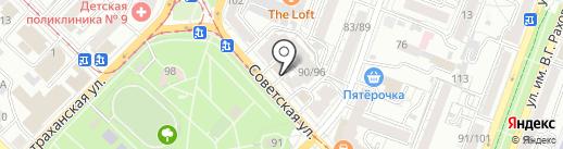 Green Park на карте Саратова