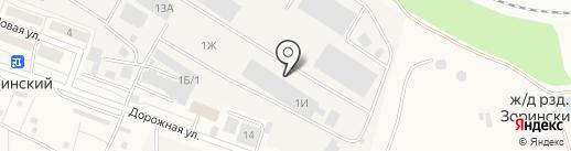 СтройОпт на карте Зоринского